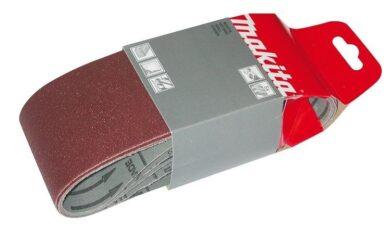 MAKITA P-37116 Brusný pás 5ks 457x76mm P80 (pro 9910/9911)(7818910)