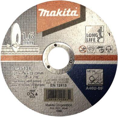 Kotouč řezný kov 125X1,6X22,23 MAKITA B-35134(7910143)