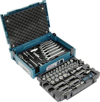 """MAKITA E-08713 Sada hlavic 3/8"""", klíčů a nástavců 120dílná v systaineru(7919540)"""