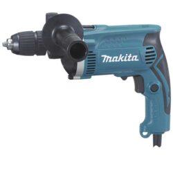 MAKITA HP1631K Vrtačka příklepová 710W sklíčidlo RU-Příklepová vrtačka Makita HP1631K 710W v kufru