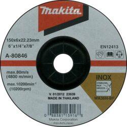 MAKITA A-80846 Kotouč brusný 150x6 na nerez-Kotouč brusný 150x6 na nerez